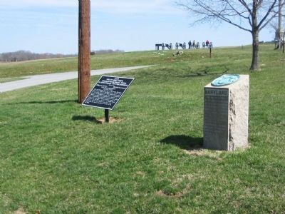 3rd Maryland Monument and Stainrook's Brigade Tablet image. Click for full size.