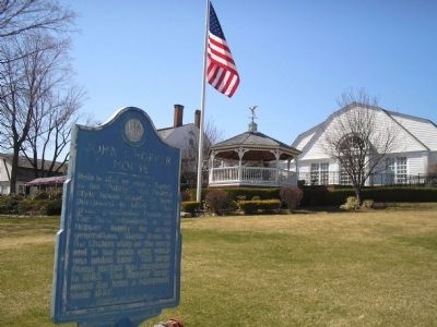 Marker at the Stony Hill Inn Photo, Click for full size