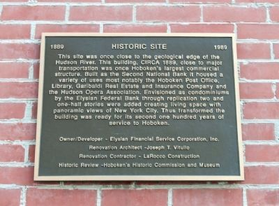 77 River Street Marker image. Click for full size.