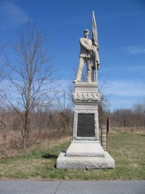 125th Pennsylvania Infantry Monument Photo, Click for full size