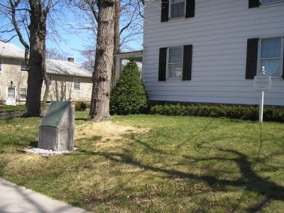 Marker at the Caldwell Parsonage image. Click for full size.