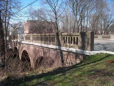 Rahway River Bridge image. Click for full size.