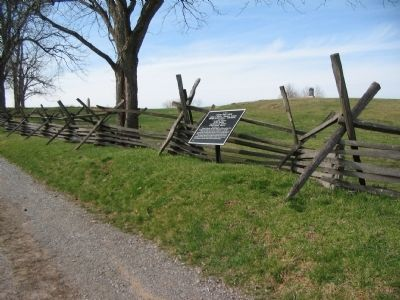 Kimball's Brigade Tablet Stands along the Sunken Road image. Click for full size.