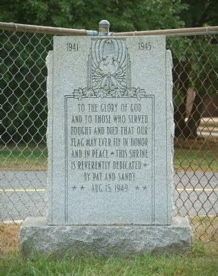 Breslin War Memorial Marker image. Click for full size.