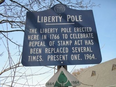 Liberty Pole Marker image. Click for full size.