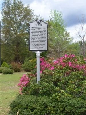 Hendersonville Side of Marker Photo, Click for full size