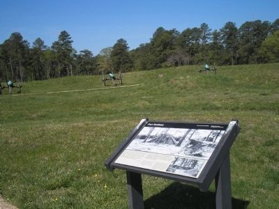 Marker outside of Fort Stedman Photo, Click for full size
