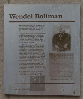 Wendel Bollman Marker Photo, Click for full size