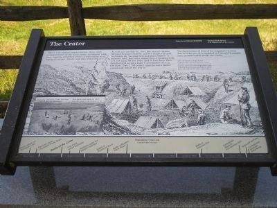 The Crater Marker Photo, Click for full size