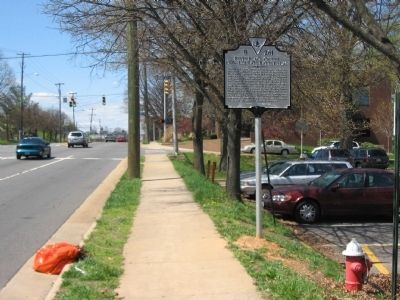 Birthplace of the Confederate Battle Flag Marker Photo, Click for full size