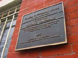 Carter G. Woodson House Marker image. Click for full size.