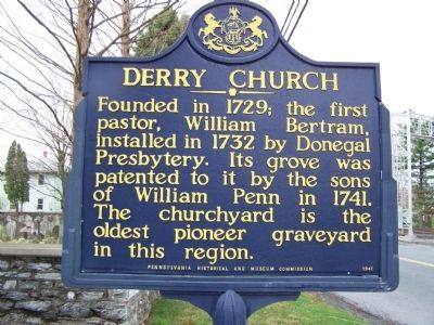 Derry Church Marker image. Click for full size.