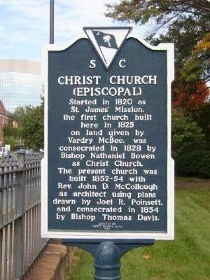 Christ Church (Episcopal) Marker image. Click for full size.