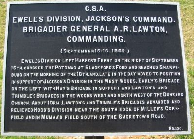 Ewell's Division Tablet image. Click for full size.