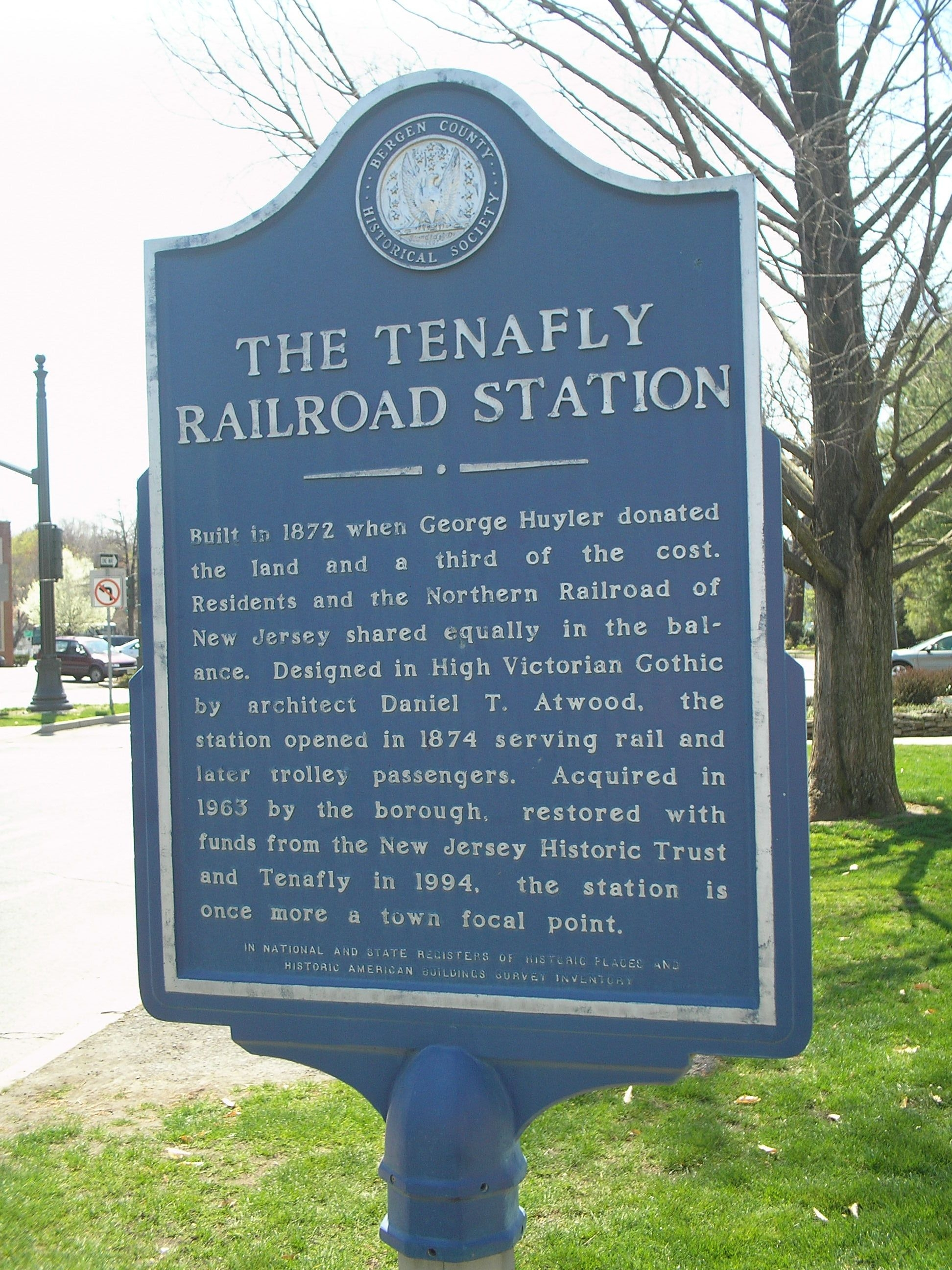 The Tenafly Railroad Station