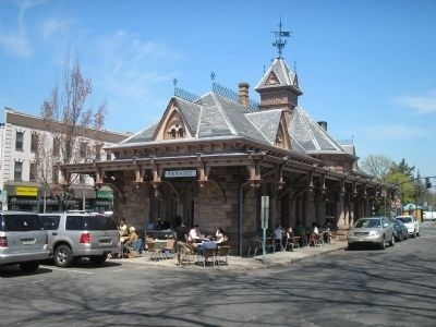 The Tenafly Railroad Station Photo, Click for full size