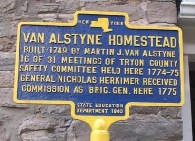Van Alstyne Homestead - Canajoharie, NY Photo, Click for full size