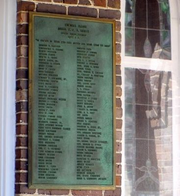 Centennial Memorial Plaque, Bethel A.M.E. Church, Arthur Fisher, Minister image. Click for full size.