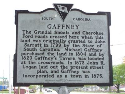 Gaffney Marker image. Click for full size.