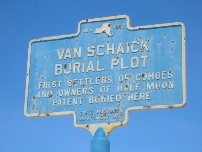 Van Schaick Burial Plot - Cohoes, NY Photo, Click for full size
