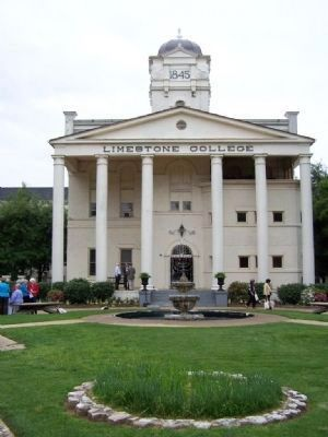 Limestone College and Marker image. Click for full size.
