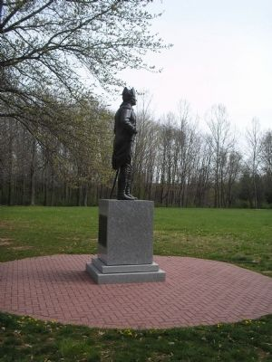 Another view of von Steuben Statue image. Click for full size.