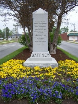 Michael Gaffney Marker image. Click for full size.