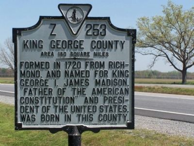 King George County Marker image. Click for full size.