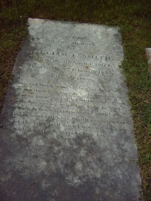Nearby Gravestone </b>behind marker in previous picture. Photo, Click for full size