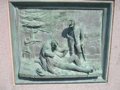 Death of Sedgwick Relief image. Click for full size.