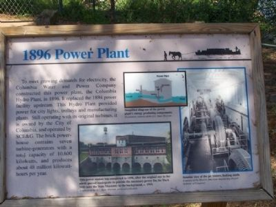 1896 Power Plant Marker image. Click for full size.