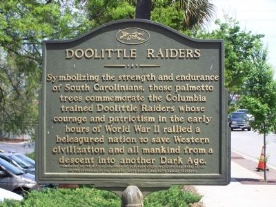 Doolittle Raiders Marker Photo, Click for full size