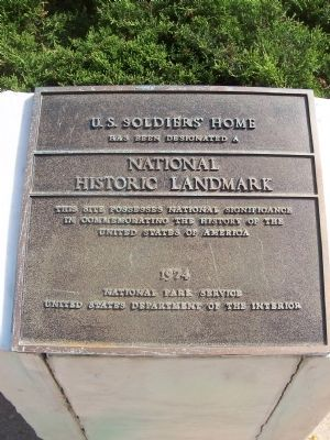 Soldiers' Home National Historic Landmark image. Click for full size.
