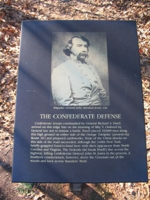 The Confederate Defense Marker image. Click for full size.