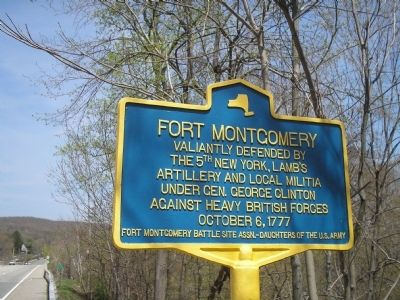 Fort Montgomery Marker Photo, Click for full size