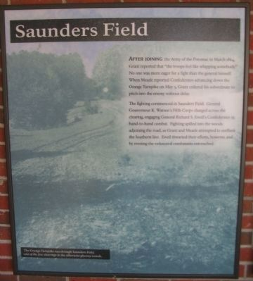 Saunders Field Panel image. Click for full size.