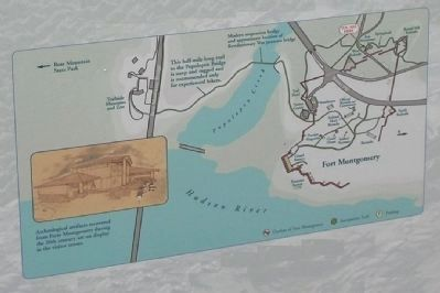 Fort Montgomery Map Photo, Click for full size