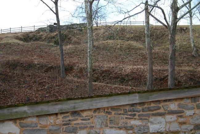 Federal View of Rifle Pits image. Click for full size.