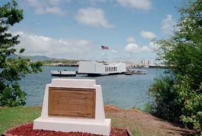 U.S.S. Arizona Marker image, Click for more information