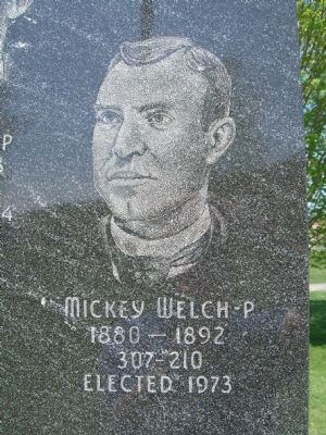 Mickey Welch - P image. Click for full size.