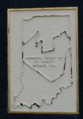 Close-up of the map on the marker image. Click for full size.