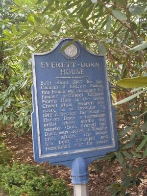 Everett – Dunn House Marker Photo, Click for full size