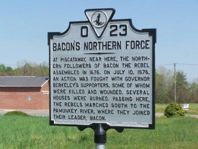 Bacon's Northern Force Marker image. Click for full size.