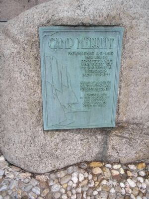Camp Merritt Marker Photo, Click for full size