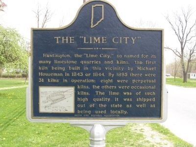 "The ""Lime City"" Marker Photo, Click for full size"
