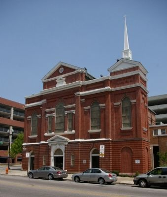 First Baptist Church image. Click for full size.