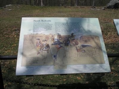 North Redoubt Marker image. Click for full size.