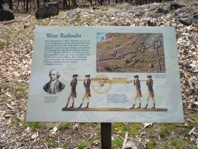 West Redoubt Marker Photo, Click for full size