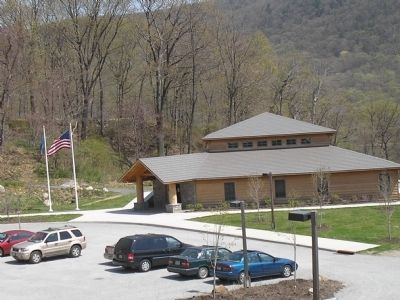 Fort Montgomery State Historic Site Visitor Center Photo, Click for full size