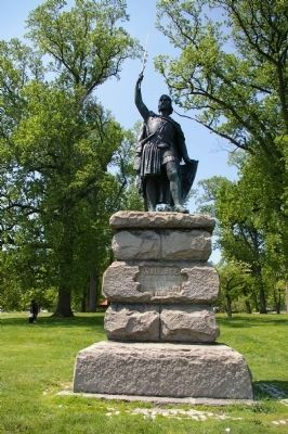 William Wallace statue Photo, Click for full size